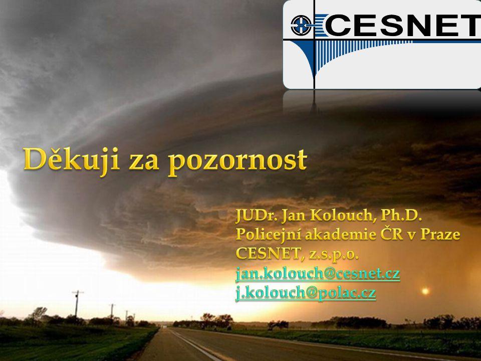 Děkuji za pozornost JUDr. Jan Kolouch, Ph.D.