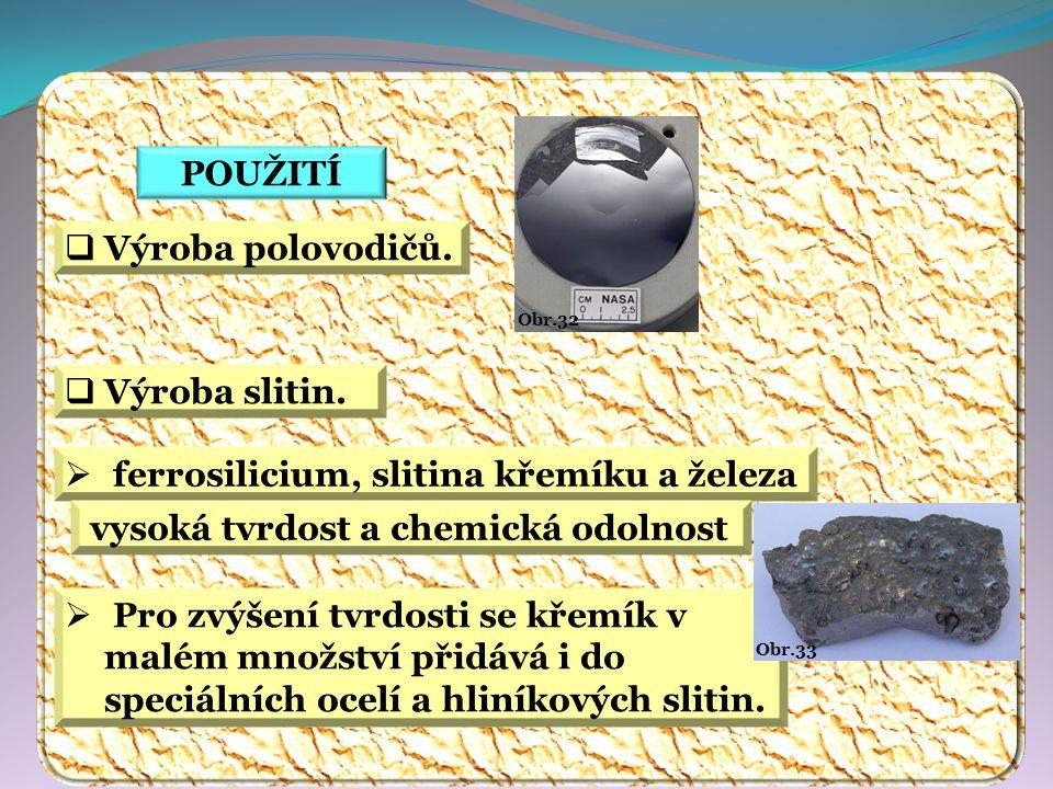 ferrosilicium, slitina křemíku a železa