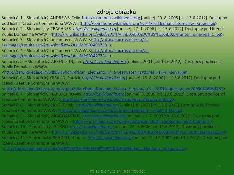 VY_32_INOVACE_19_CHOBOTNATCI