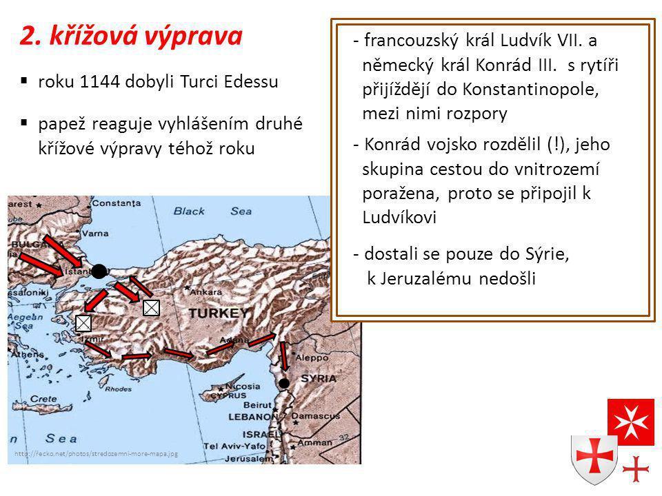 2. křížová výprava francouzský král Ludvík VII. a