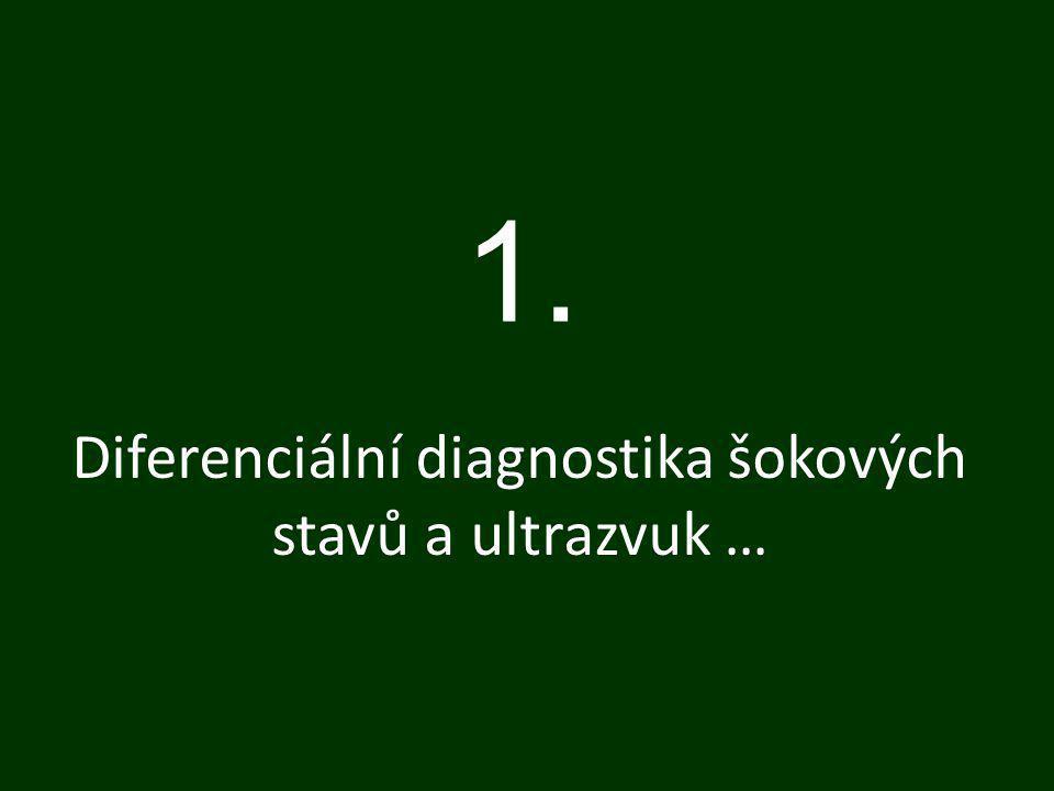 Diferenciální diagnostika šokových stavů a ultrazvuk …