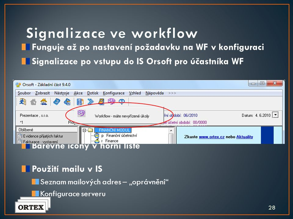 Signalizace ve workflow