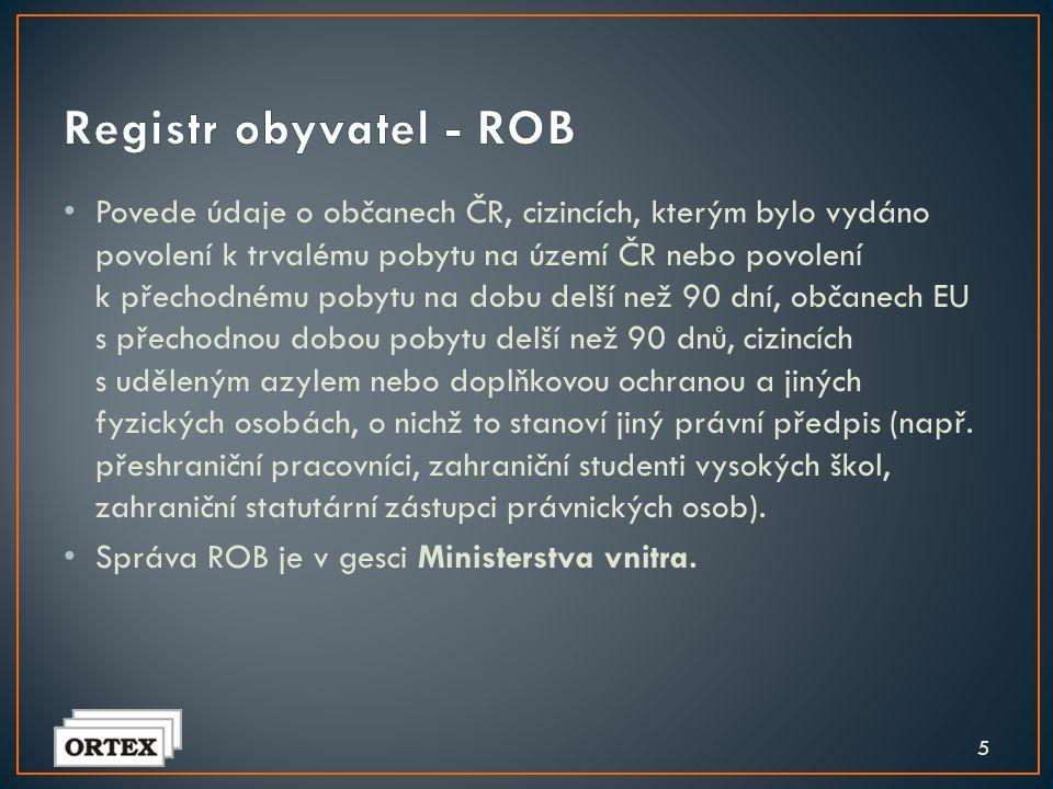 Registr obyvatel - ROB