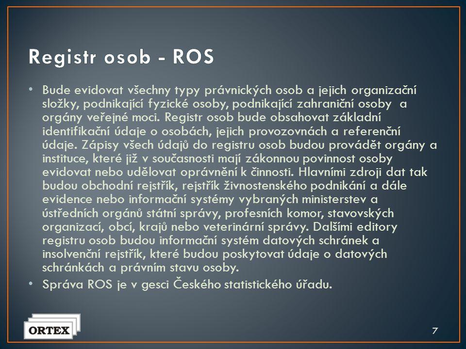 Registr osob - ROS