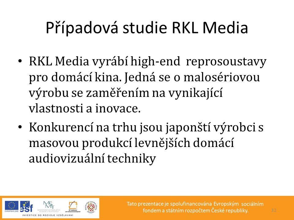 Případová studie RKL Media