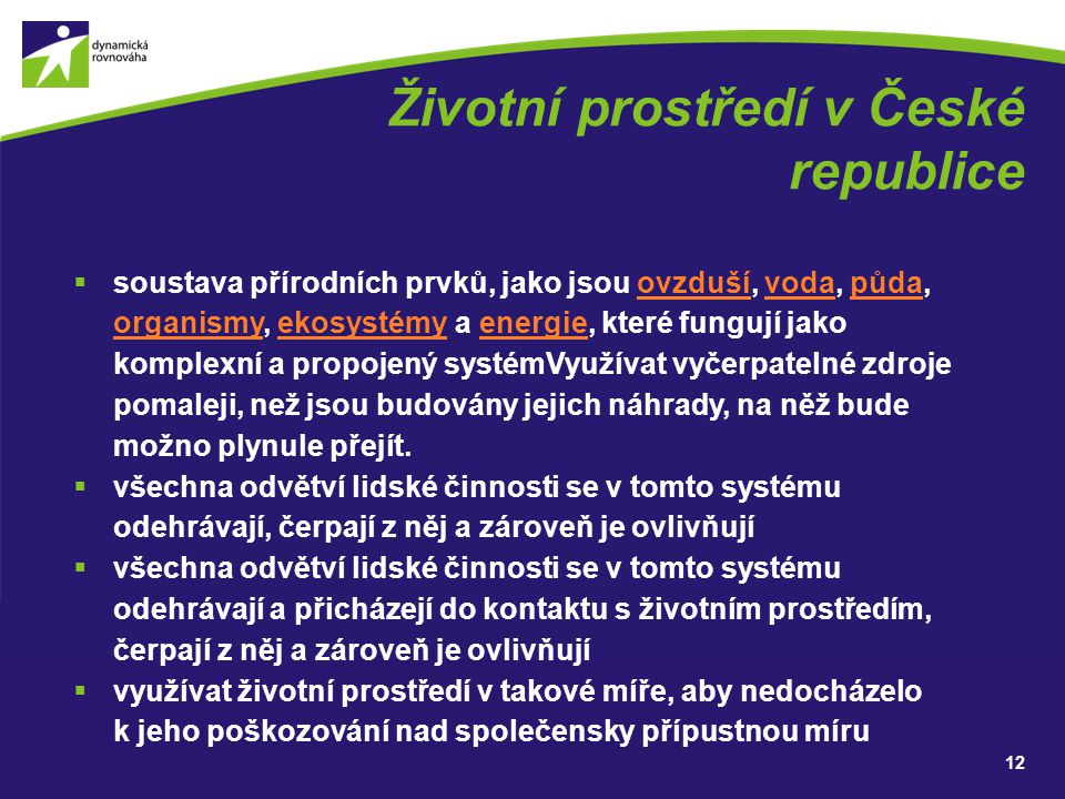 Životní prostředí v České republice