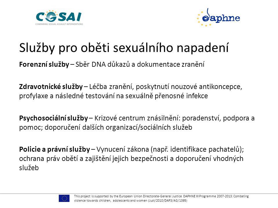Služby pro oběti sexuálního napadení