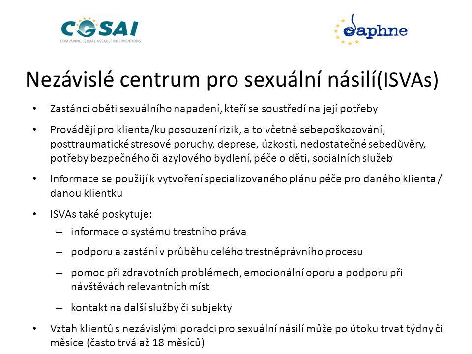 Nezávislé centrum pro sexuální násilí(ISVAs)
