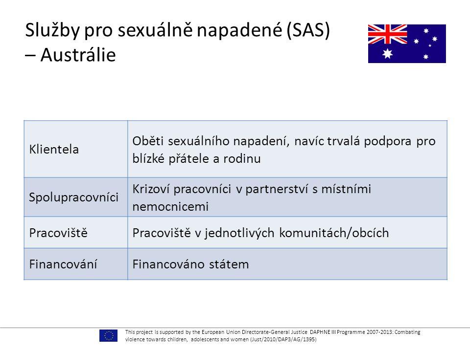 Služby pro sexuálně napadené (SAS) – Austrálie