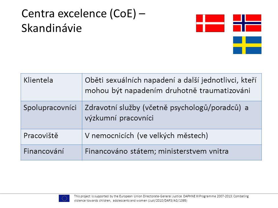 Centra excelence (CoE) – Skandinávie