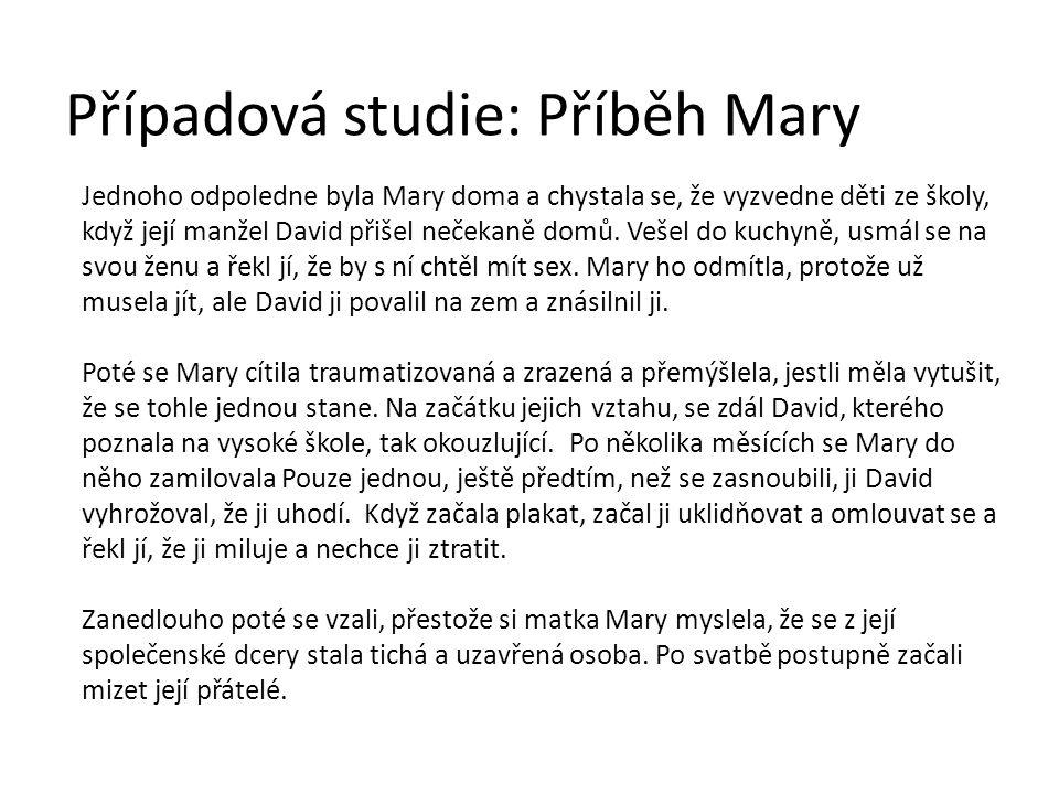 Případová studie: Příběh Mary