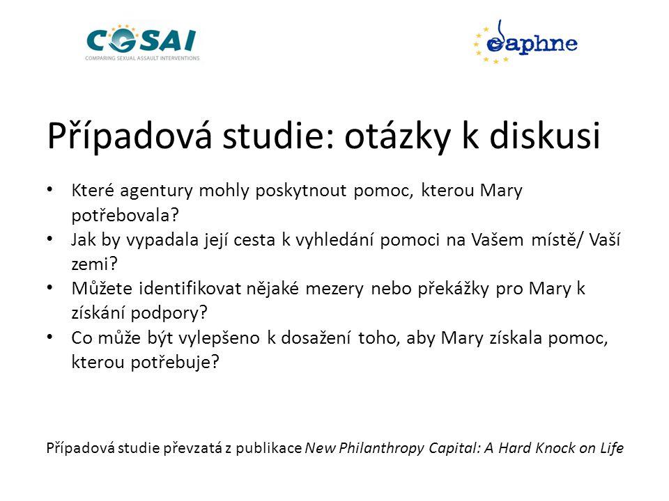 Případová studie: otázky k diskusi