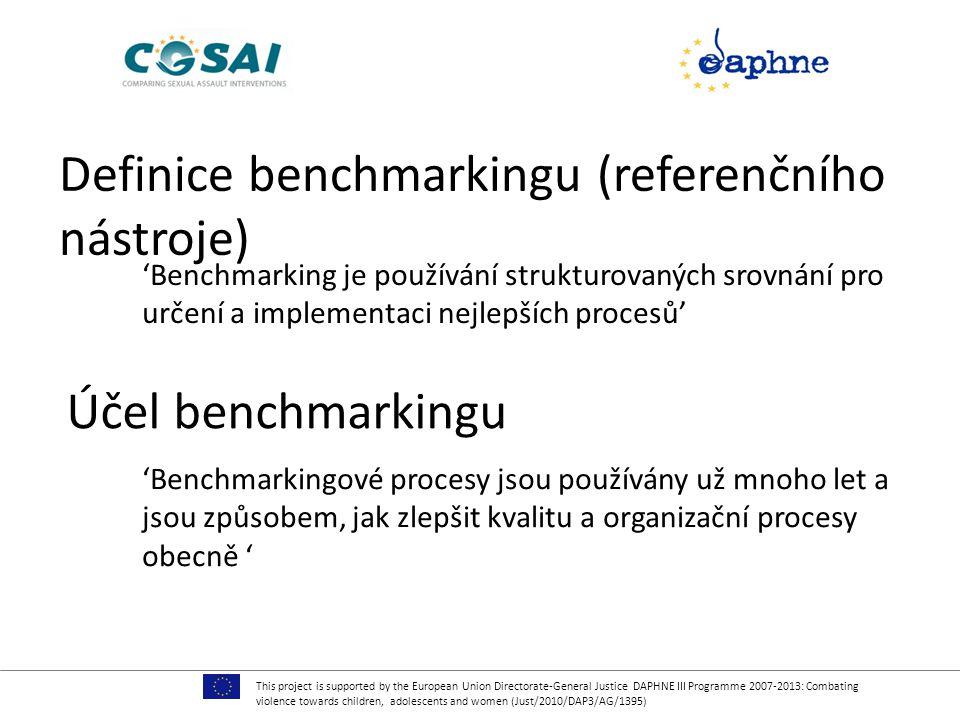 Definice benchmarkingu (referenčního nástroje)