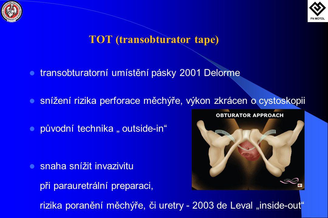 TOT (transobturator tape)