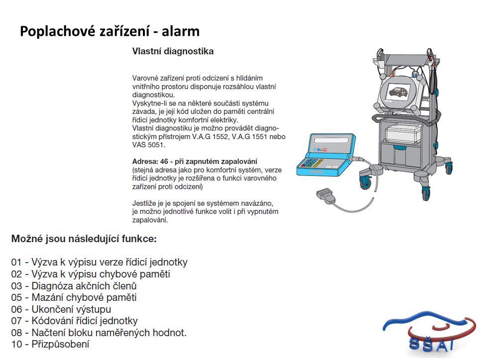 Poplachové zařízení - alarm