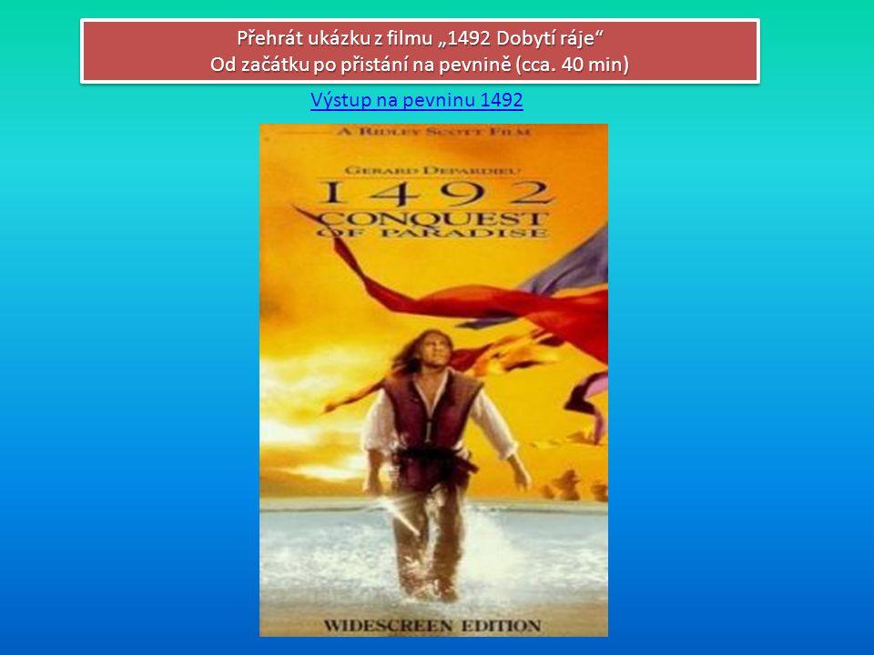 """Přehrát ukázku z filmu """"1492 Dobytí ráje"""