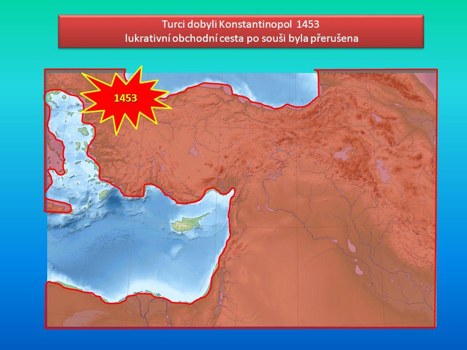 Turci dobyli Konstantinopol 1453