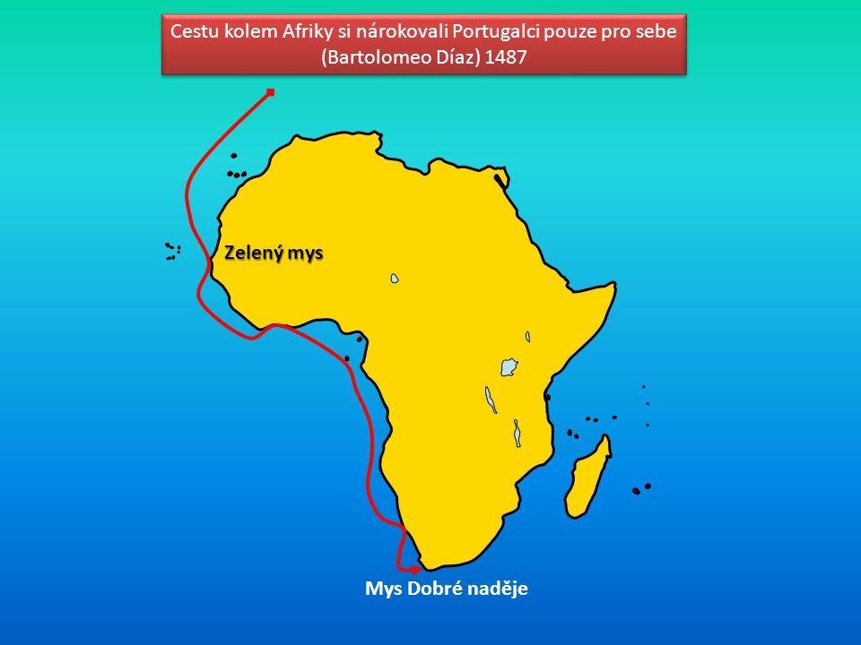 Cestu kolem Afriky si nárokovali Portugalci pouze pro sebe