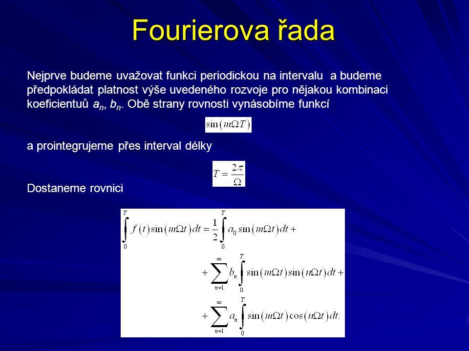 Fourierova řada