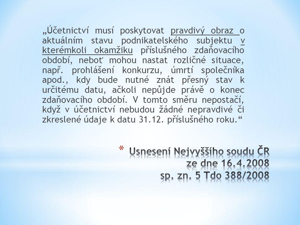 Usnesení Nejvyššího soudu ČR ze dne 16.4.2008 sp. zn. 5 Tdo 388/2008