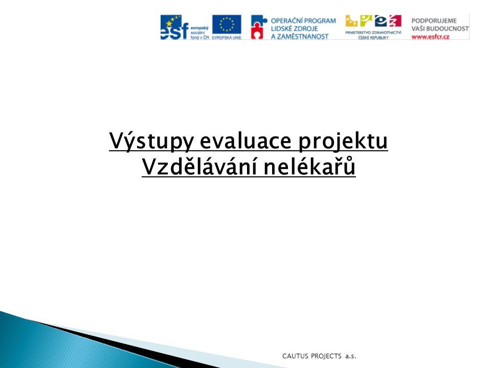 Výstupy evaluace projektu Vzdělávání nelékařů