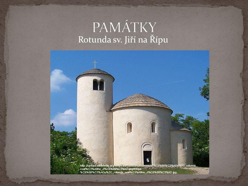 PAMÁTKY Rotunda sv. Jiří na Řípu