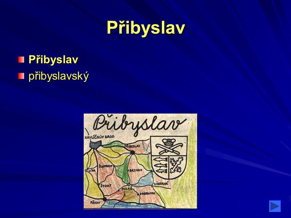 Přibyslav Přibyslav přibyslavský