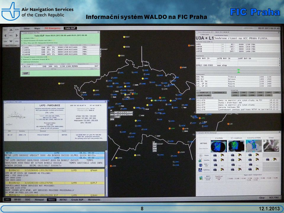 Informační systém WALDO na FIC Praha