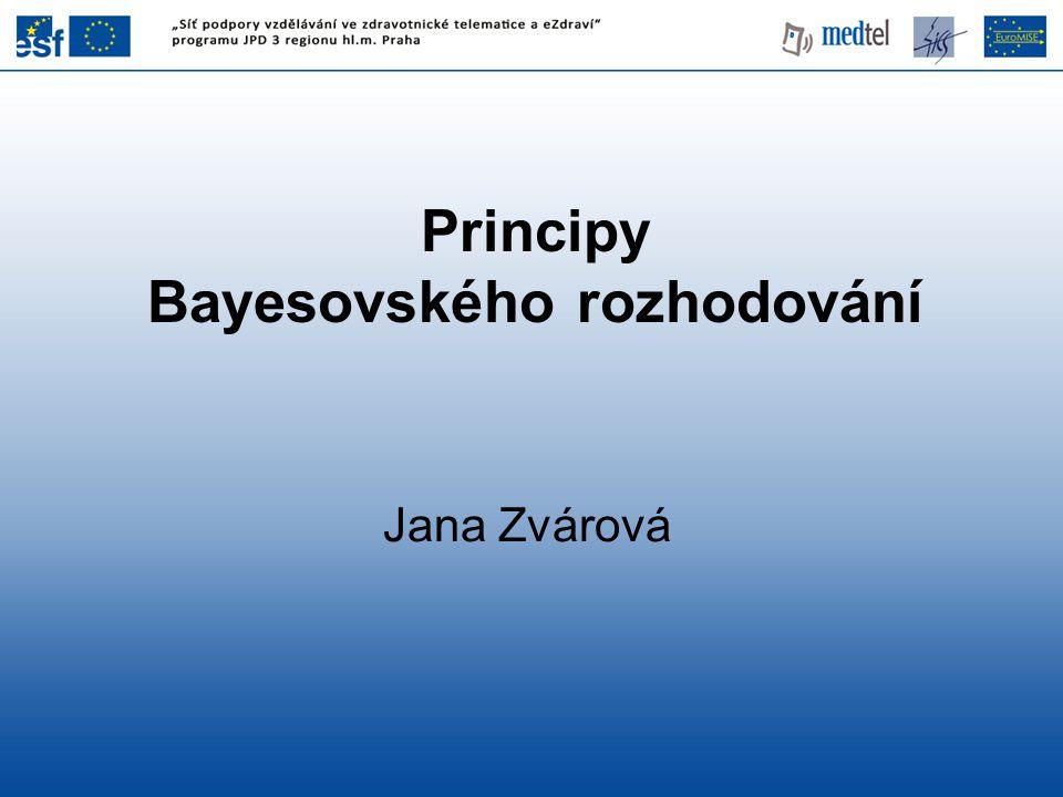 Bayesovského rozhodování