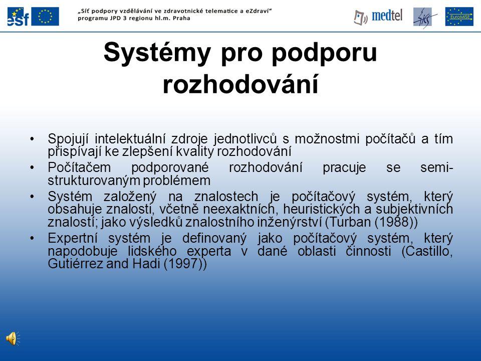 Systémy pro podporu rozhodování
