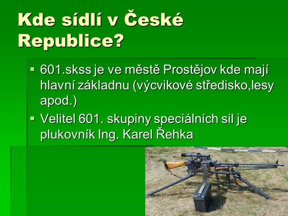 Kde sídlí v České Republice