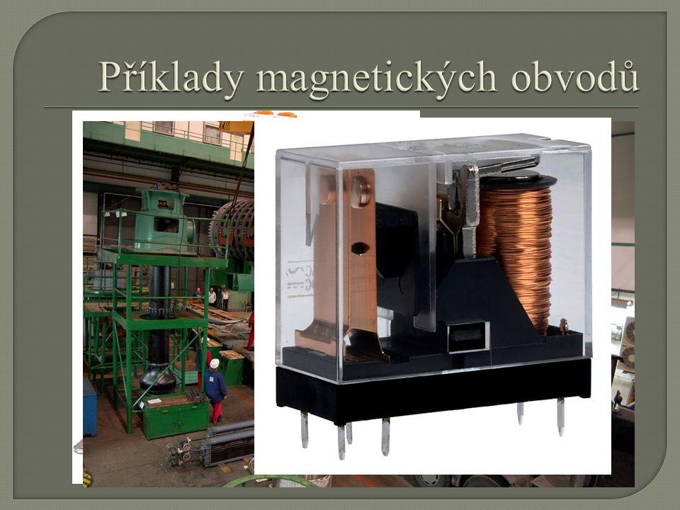 Příklady magnetických obvodů