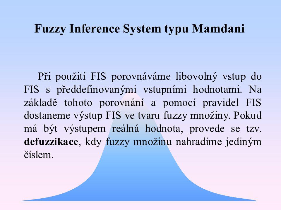 Fuzzy Inference System typu Mamdani