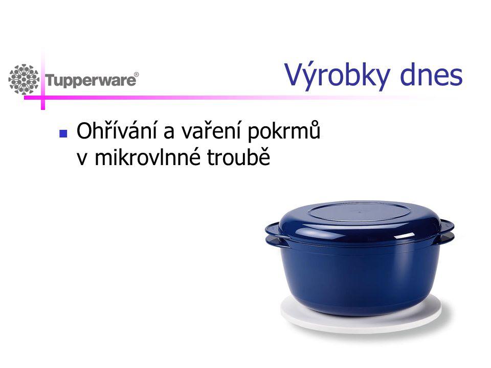 Výrobky dnes Ohřívání a vaření pokrmů v mikrovlnné troubě