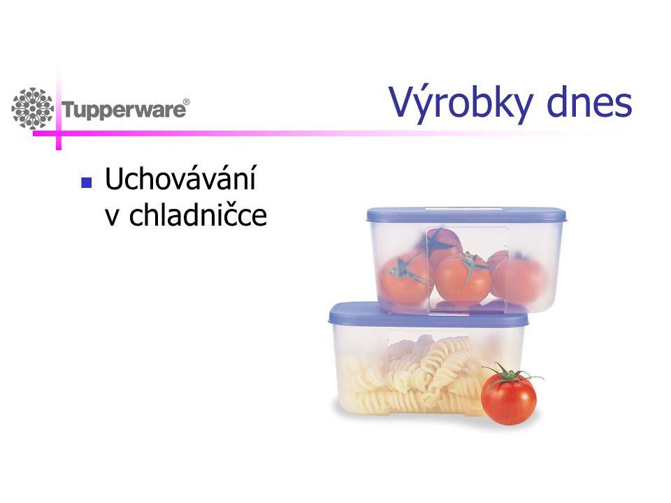 Výrobky dnes Uchovávání v chladničce