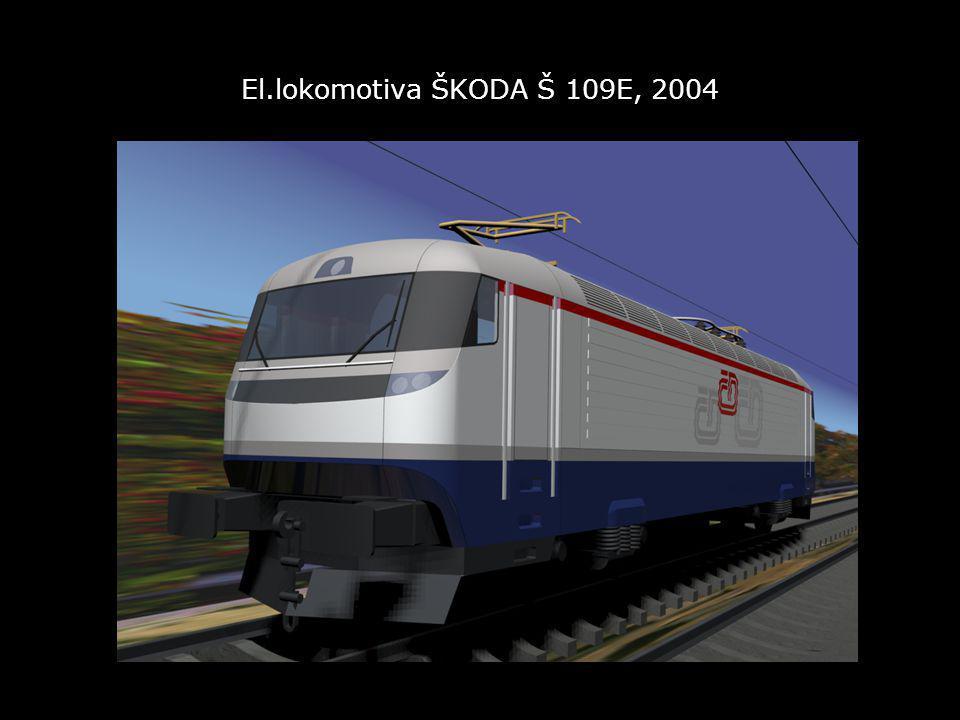 El.lokomotiva ŠKODA Š 109E, 2004
