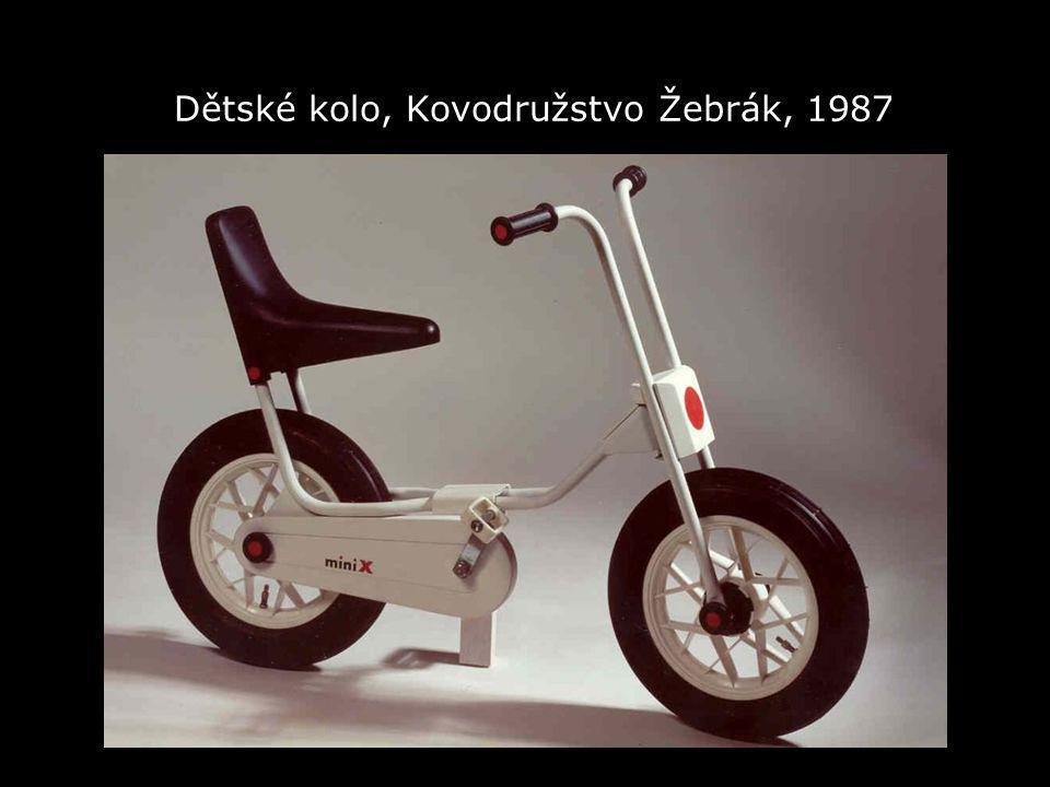 Dětské kolo, Kovodružstvo Žebrák, 1987