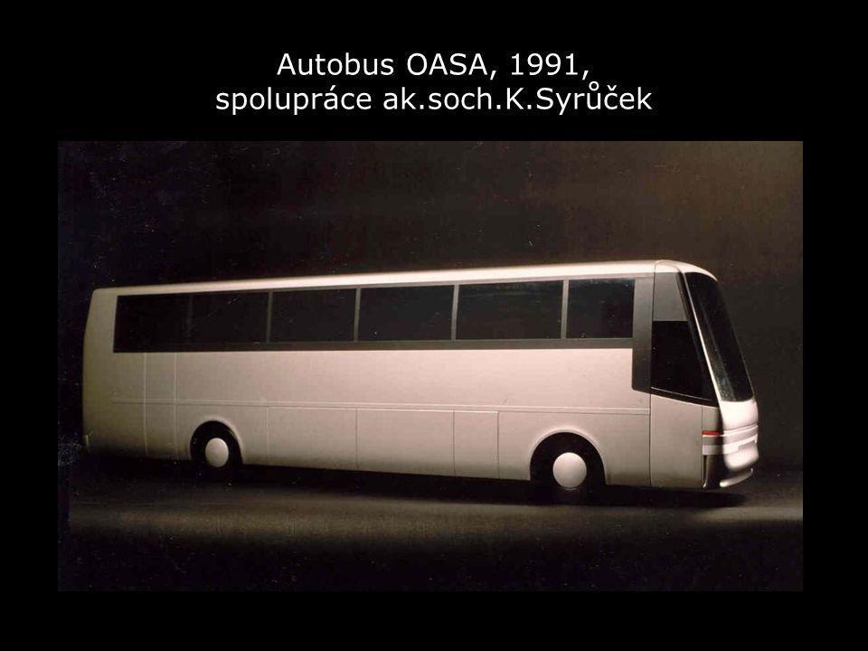 Autobus OASA, 1991, spolupráce ak.soch.K.Syrůček