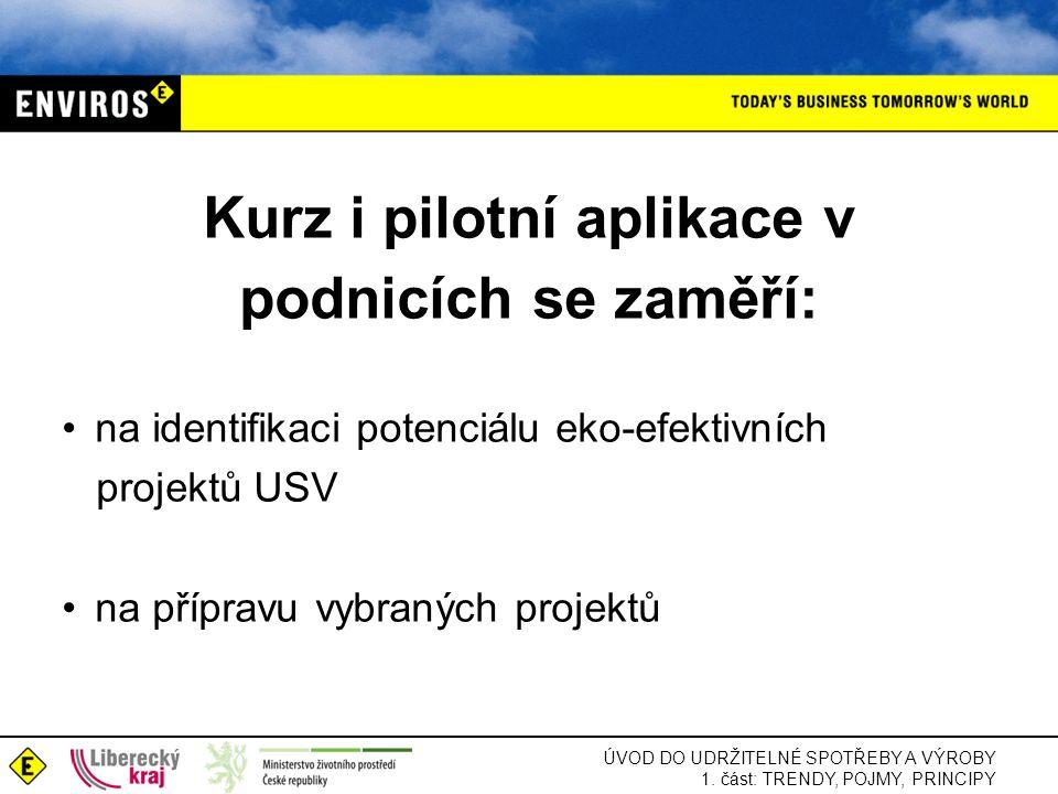 Kurz i pilotní aplikace v