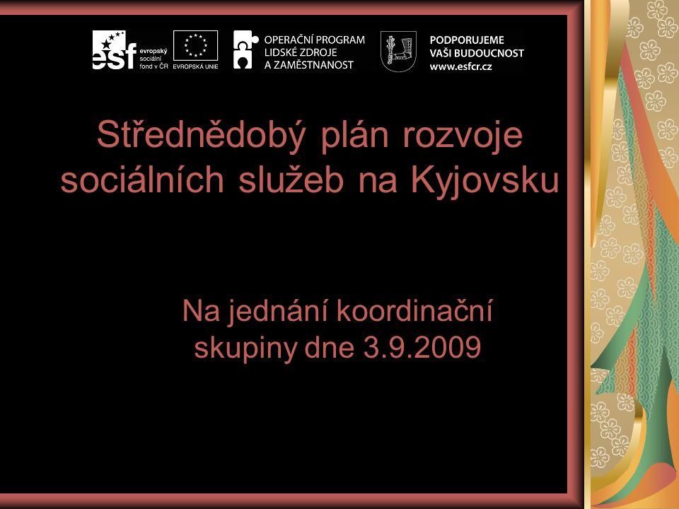 Střednědobý plán rozvoje sociálních služeb na Kyjovsku