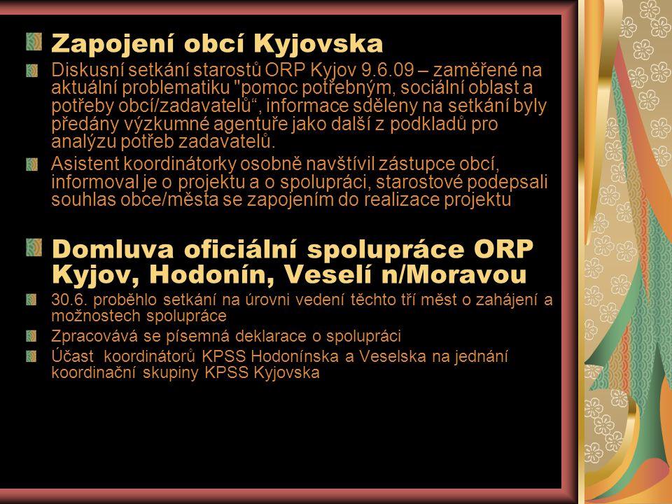 Zapojení obcí Kyjovska
