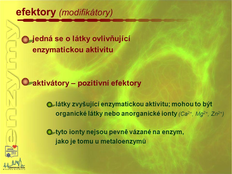 efektory (modifikátory)