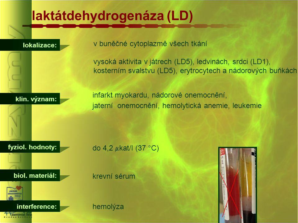 laktátdehydrogenáza (LD)