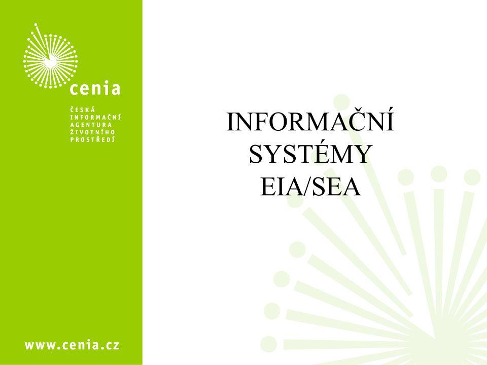 INFORMAČNÍ SYSTÉMY EIA/SEA