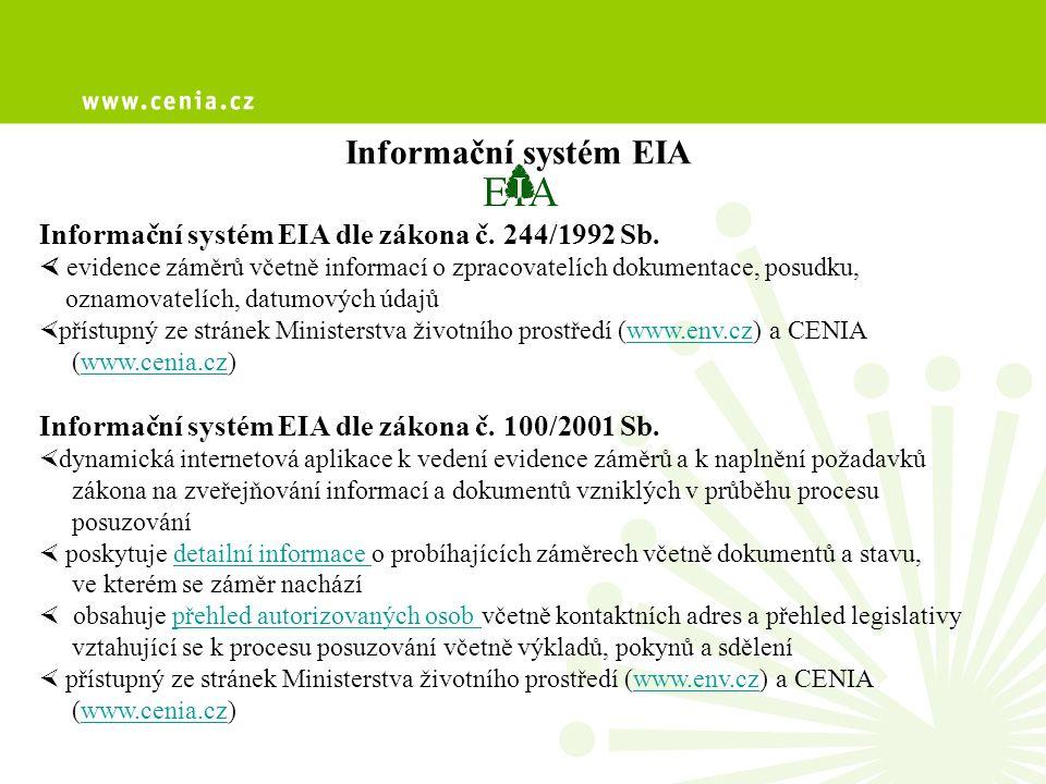 Informační systém EIA