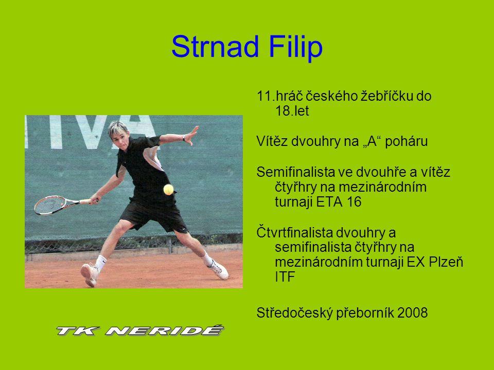 Strnad Filip TK NERIDÉ 11.hráč českého žebříčku do 18.let