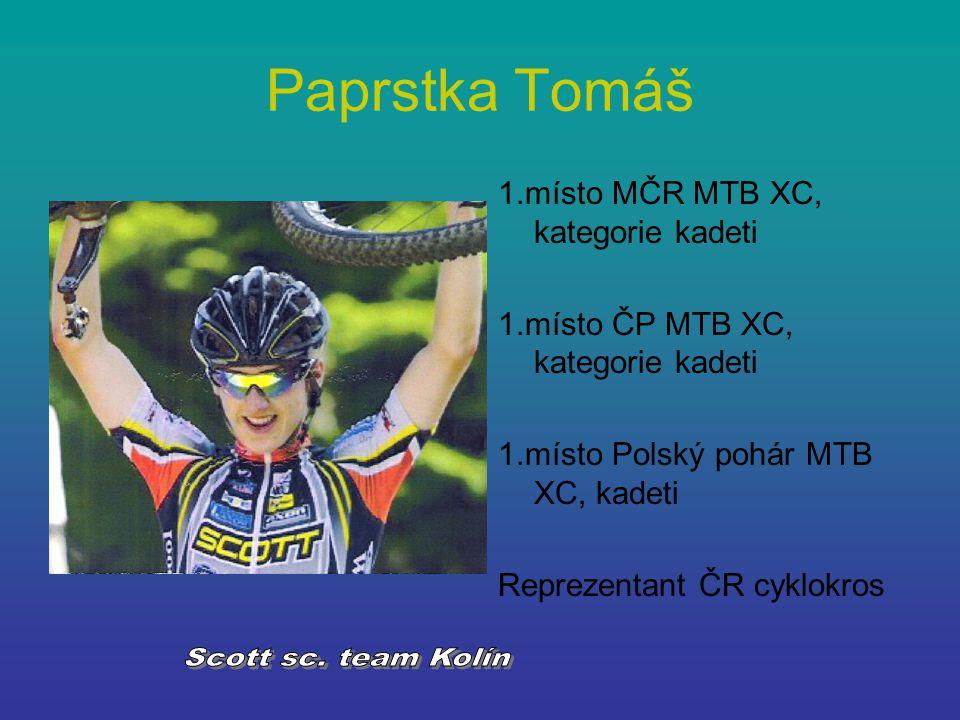 Paprstka Tomáš Scott sc. team Kolín