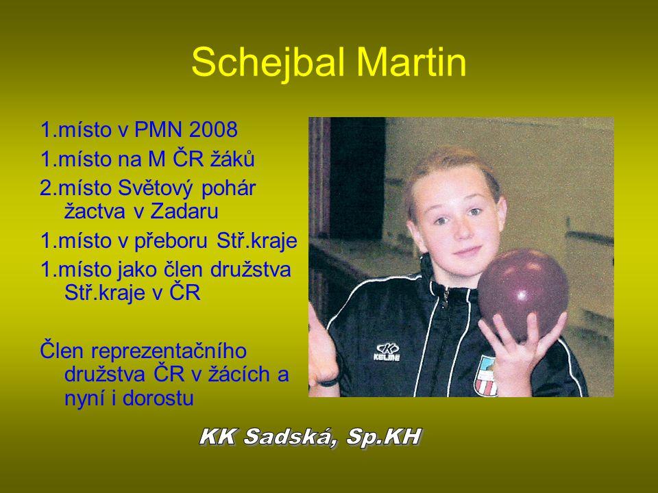 Schejbal Martin KK Sadská, Sp.KH 1.místo v PMN 2008