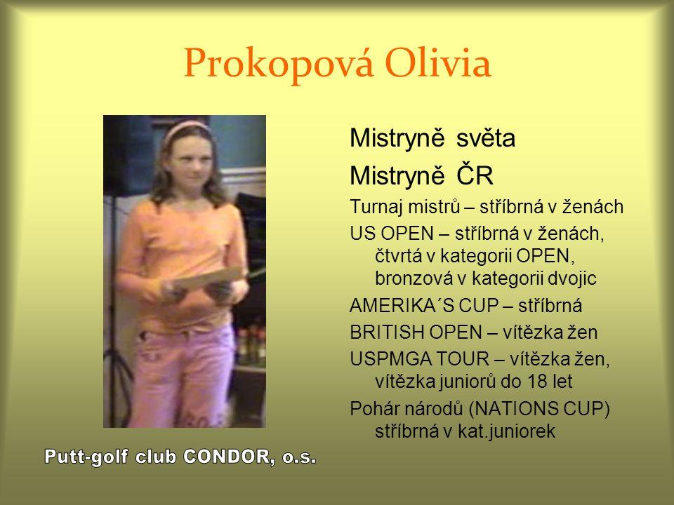 Putt-golf club CONDOR, o.s.