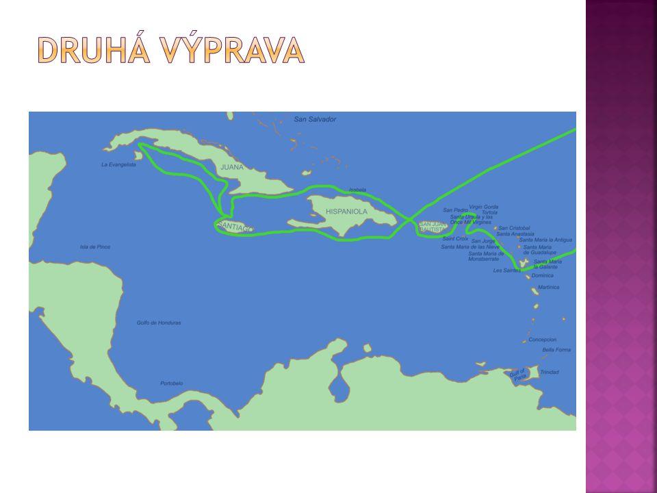 Druhá výprava 25. září 1493.